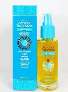 #7. Avon Advance Techniques 360 Nourishing Moroccan Argan Oil Leave-in Treatment