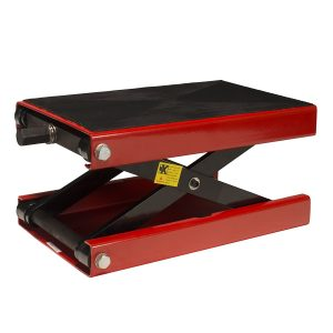 #1. Dragway wide deck motorcycle lift