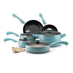 #5. Paula Deen Signature Porcelein Cookware Set