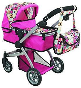 Doll Strollers Pro Deluxe Doll Stroller