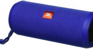 #7. JBL jbl Flip 3 Splash Proof Bluetooth Portable Speaker, (Blue)