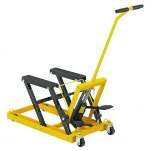 #9. Central Hydraulics motorcycle lift