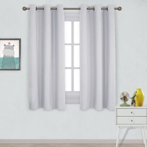 #9. Nicetown thermal insulated blackout curtains