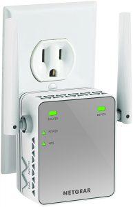 #1. Netgear N300 Wi-Fi booster EX2700