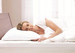 10. Sleep innovations reversible gel memory foam pillow