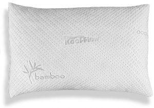 Hypoallergenic Bamboo Pillow - Shredded Memory Foam With Kool