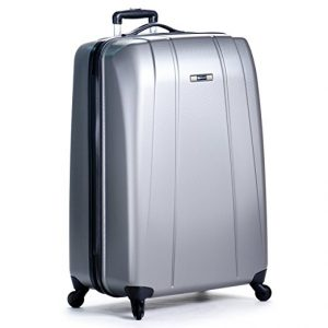 #5. Delsey luggage helium shadow 4 wheel spinner
