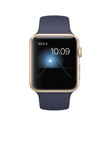 #8. Apple watch sport with midnight blue sport band#8. Apple watch sport with midnight blue sport band