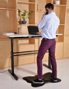 #10. Butterfly standing desk anti-fatigue mat