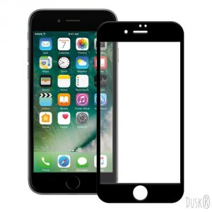 5. Dusk® Tempered Glass Full Coverage Screen Protector for Apple iPhone 6 / 6S PLUS