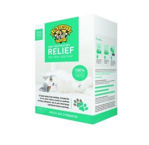5. Precious Cat Respiratory Relief Clay Cat Litter (20 lbs)