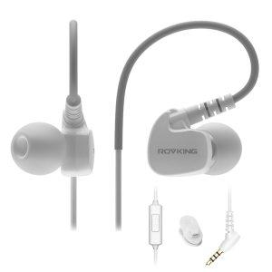 7. Rovking Sweatproof Sport Workout Headphones