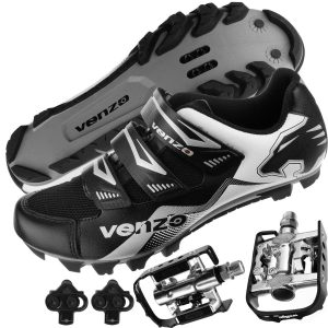 1.Venzo Mountain Bike Cycling Shimano Shoes