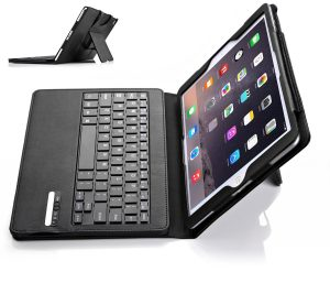 10. IVSO Apple iPad Pro 9.7 Case With Keyboard DETACHABLE Bluetooth Keyboard Stand Case / Cover