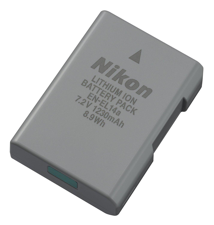 3. Nikon 27126 EN-EL 14A Rechargeable Li-Ion Battery