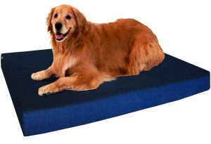 4. Dogbed4less Orthopedic Memory Foam Dog Bed
