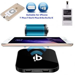 5. iPhone Qi Wireless Charger Fast Speed Charging