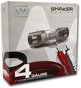 6. VM Audio SRPK4R 4 Gauge Car Amplifier Audio Installation Kit