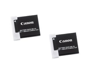 7. Canon NB-11L 2x Rechargeable Lithium-Ion Battery Pack