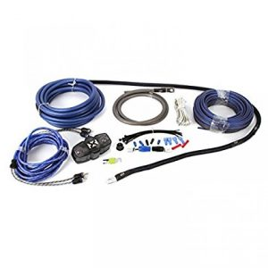 NVX 100% Copper 4-Gauge Car Amp Install Kit
