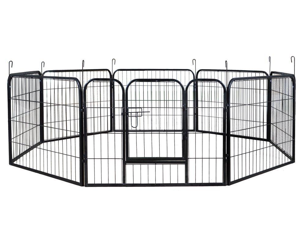 9. ShinShop 16 Panel Heavy Duty Cage Pet Dog Cat Barrier Fence