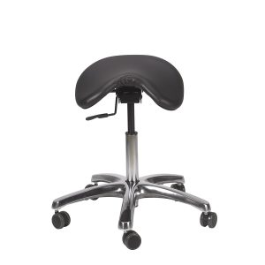 9) Ergonomic Chair - BetterPosture Saddle Chair - Jobri F1465-BK