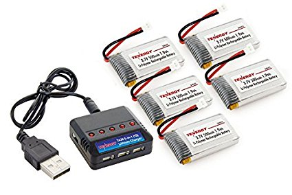 Combo: Tenergy T439 5-in-1 charger for 3.7V Lithium RC