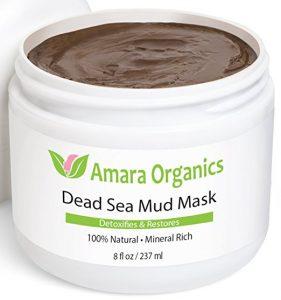 7. Amara Organics Dead Sea Mud Mask for Face & Body