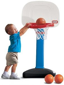8. Little Tikes Easy Score Basketball Set - 3 Ball