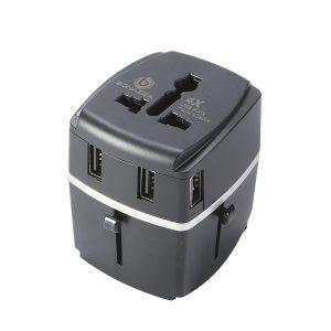 9. BONAZZA Universal World Travel Adapter Kit