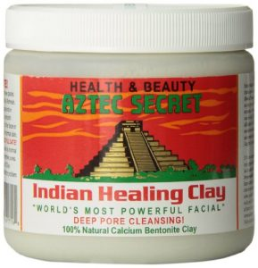 1. Aztec Secret Indian Healing Clay Deep Pore Cleansing