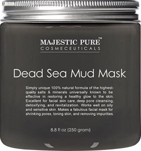 3. Majestic Pure Dead Sea Mud Mask Facial Cleanser