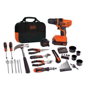 4. BLACK+DECKER LDX120PK Home Repair Kit