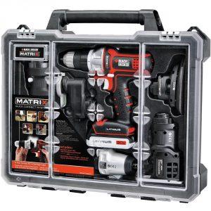 10. Black & Decker BDCDMT1206KITC Tool Kit