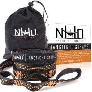 HangTight Hammock Straps 10 Feet Long