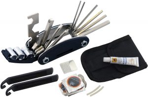 Am-tech S1810 Bicycle Repair Tool and Puncture Kit