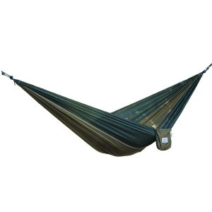 Portable parachute nylon hammock