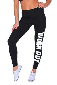 Futuro Fashion Work Out Printed Full Length Cotton Active Leggings Joggers Gym Fitness