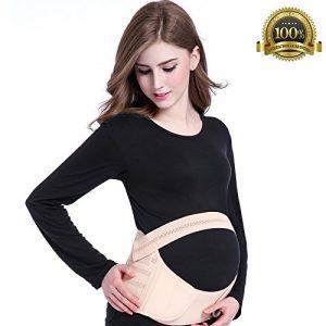 Amymami Maternity Belt,Breathable Abdominal Binder
