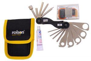 Rolson Tools 40607 32-in-1 Bike Repair Tool Kit