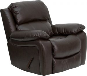 Flash Furnitures MEN-DA3439-91 Leather Rocker Recliner
