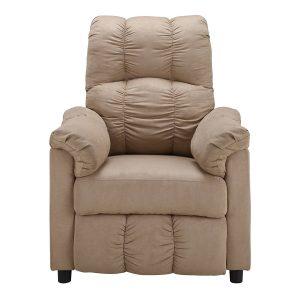 Slim Recliner Chair, Beige