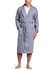 Nautica Men's Long Sleeve Bathrobe