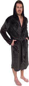 Rose Michael's Men's Hooded Robe