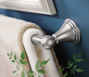 Moen DN8424BN Preston Bathroom Towel Rack