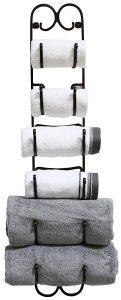 DecoBros Wall Mount Multi-Purpose Towel Rack
