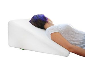 Bed Wedge Pillow with Memory Foam Top by Cushy Form