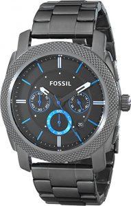 Fossil FS4931 Machine Gunmetal Bracelet Watch
