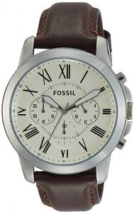 Fossil Men's Grant Roman Watch