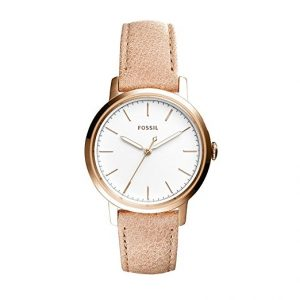Fossil Neely 3-Hand Leather Watch Women